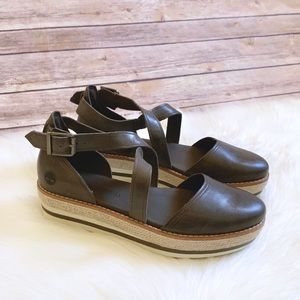Timberland Emerson Point Closed Toe Leather Sandal